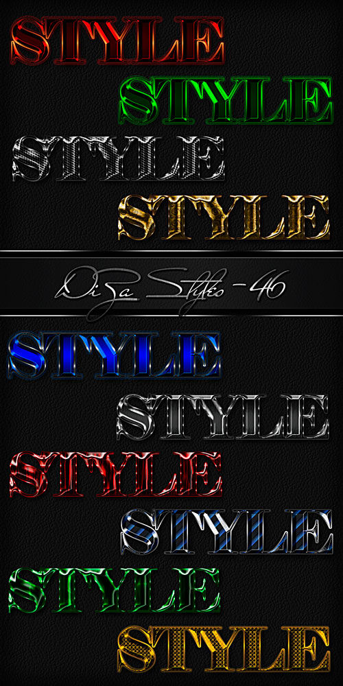 Text Styles - 46by DiZa