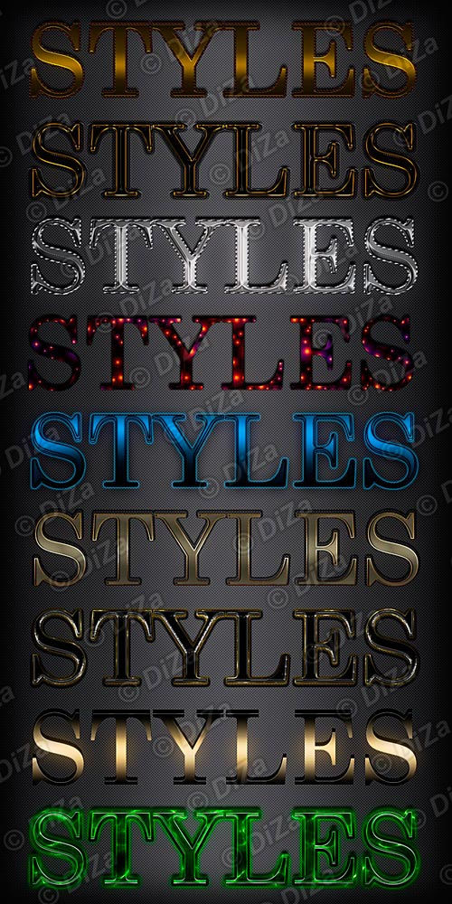 Text styles - 44by DiZa