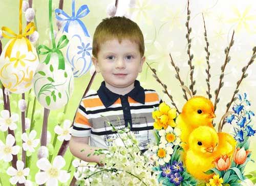 Детская рамочка для оформления фотографий