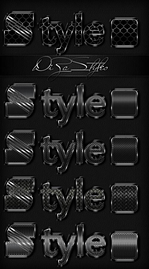 Dark Metal Styles by DiZa