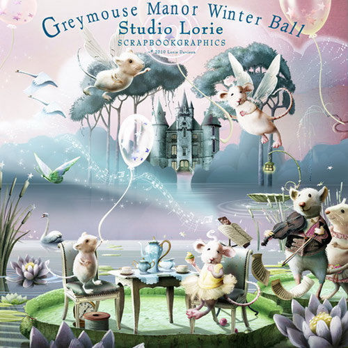 Скрап-набор Greymouse Manor Winter Ball