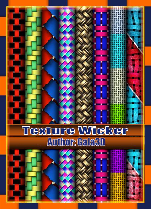 Texture wicker Плетёная текстура