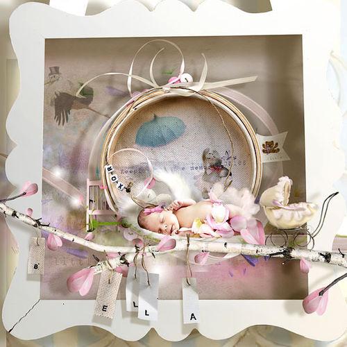 Скрап-набор I love pink