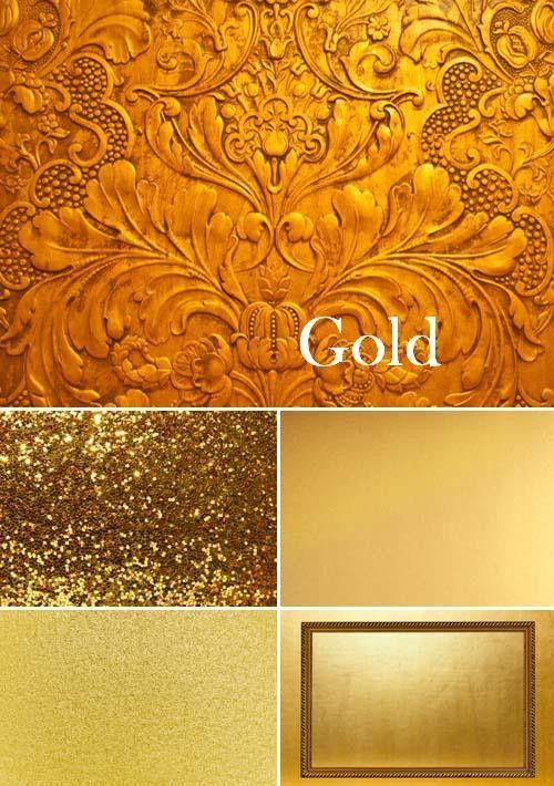 Сборка из 6-ти высококачественных золотых фонов для Вашего творчества