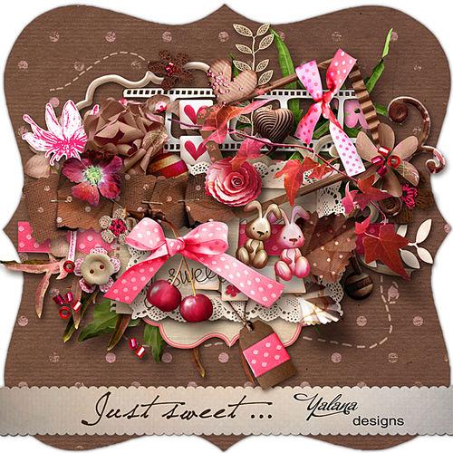 Скрап-набор Just Sweet