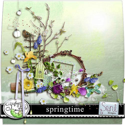 Скрап-набор Springtime