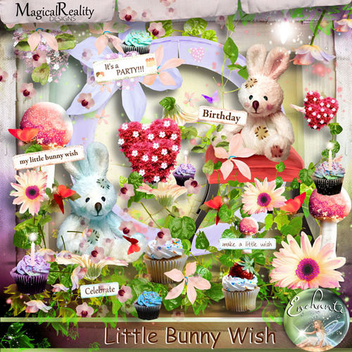 Скрап-набор Little Bunny Wish by MRD