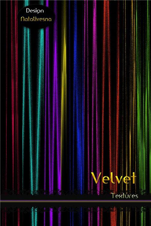 Бархатные текстуры для фотошопа. Velvet textures for Photoshop