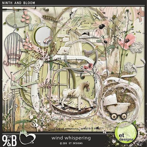 Скрап-набор Wind whispering