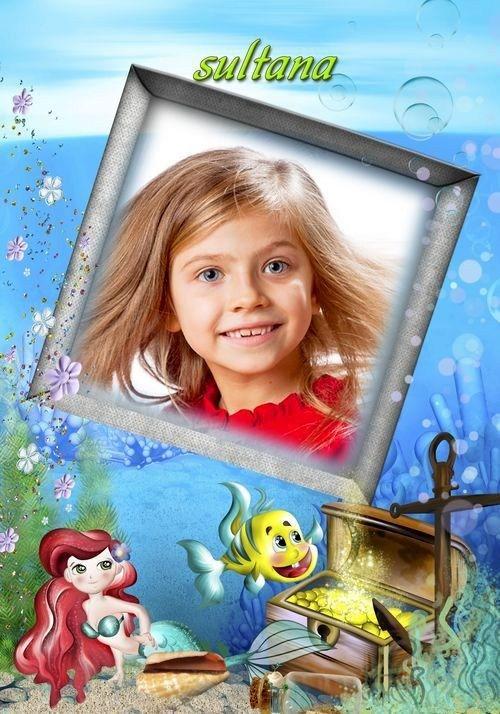 Рамочка для оформления детских фотографий