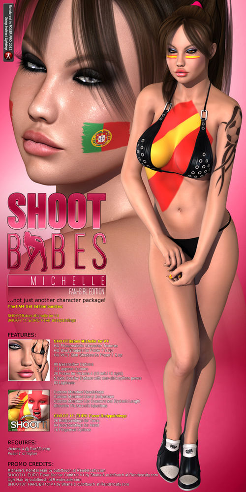 SHOOTBabes Michelle - FAN-Girl Edition -