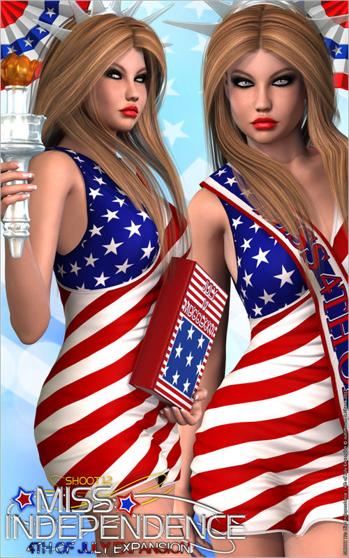 SHOOT 12: Miss Independence - 4th of July AddOn 2