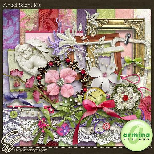 Скрап-набор Angel Scent