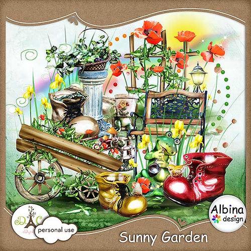 Скрап-набор Sunny Garden