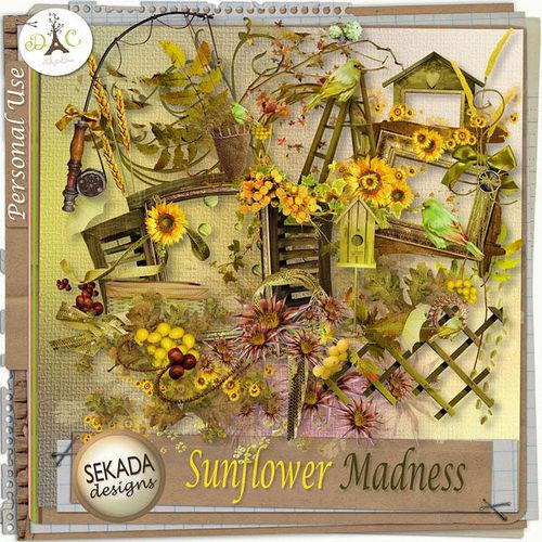 Скрап-набор Sunflower Madness