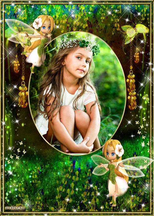 Детская рамка для оформления фотографий