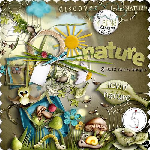 Скрап-набор Lovin' Nature
