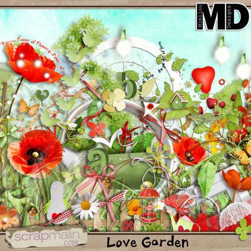 Скрап-набор Love Garden