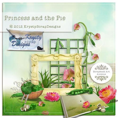 Скрап-набор Princess and the pea