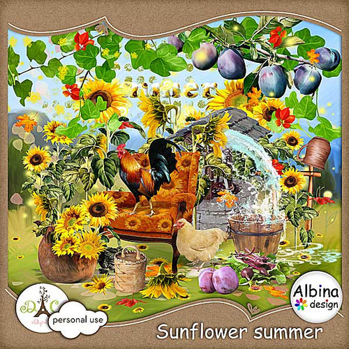 Скрап-набор Sunflower Summer