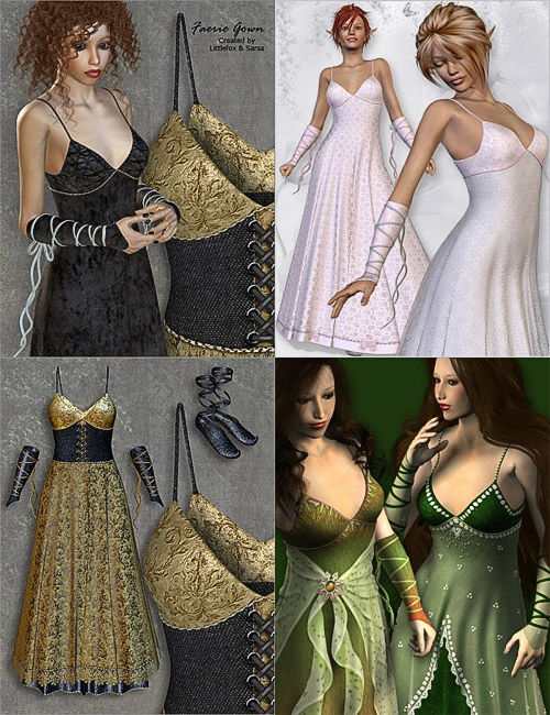 Fairy Gown collection for V4