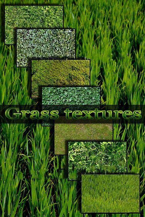 Текстуры газонной травы