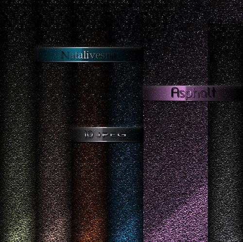 Асфальт - Цветные брызги - Текстуры для Photoshop