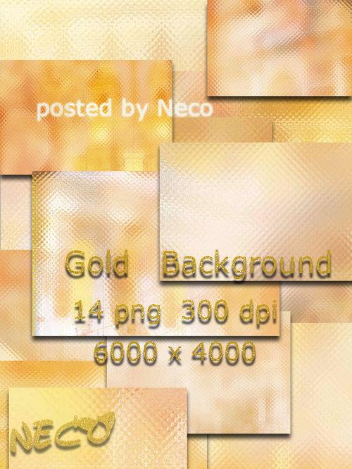 Set of gold backgrounds - Набор золотых фонов