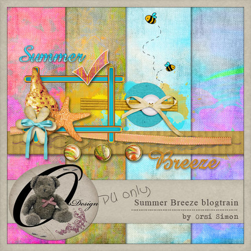 "Скрап-набор ""Summer Breeze"" (blogtrain)"