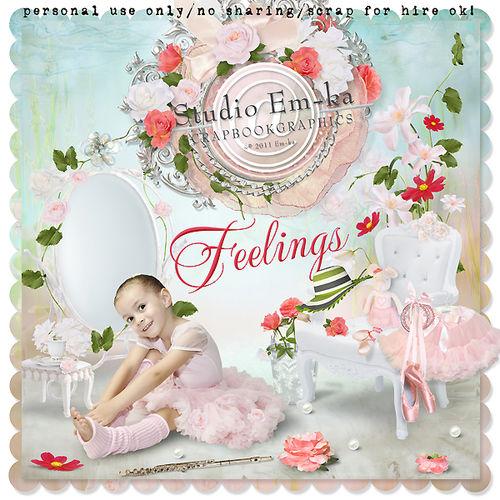 Скрап-набор Feelings