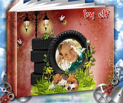 Детская фотокнига – Озорной мальчуган