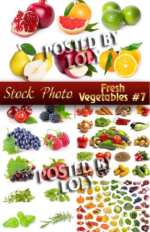 Растровый клипарт Свежие овощи #7