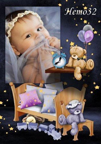 Фоторамка для малышей