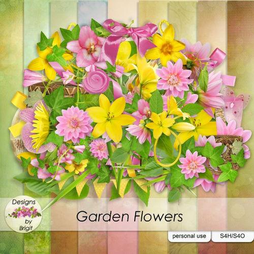 Скрап-набор Garden Flowers
