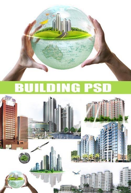 Новые города в PSD