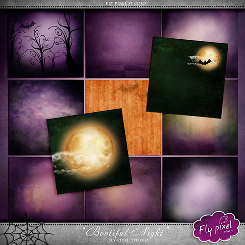 "Scrap kit ""Bootiful Night"""