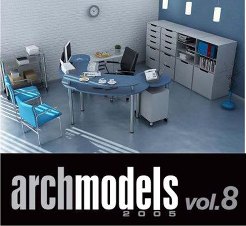 Офисная мебель - Archmodels vol. 8