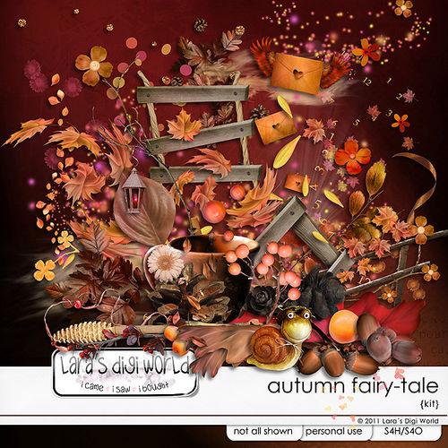 Скрап-набор Autumn Fairy-tale