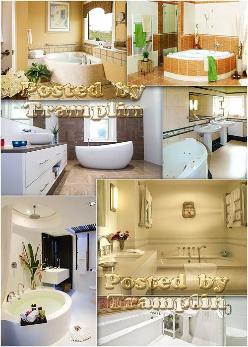 Интерьер, дизайн – Ванная комната - Bathroom room
