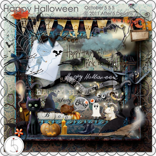 Scrap kit Happy halloween