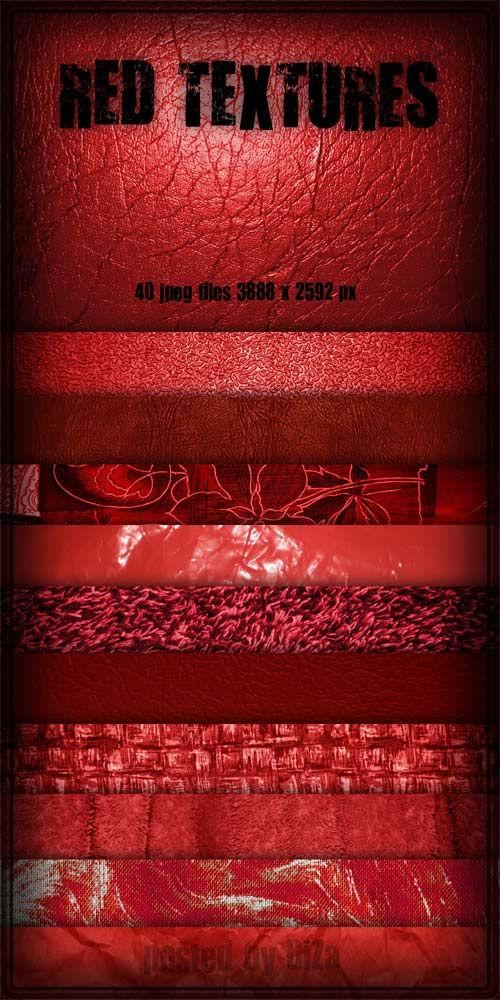 Красные текстуры