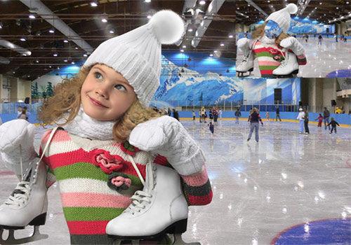 Шаблон  детский ''Весело зимой''