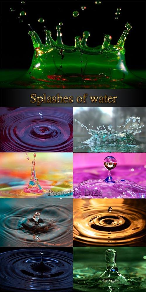 Всплески воды | Splashes of water