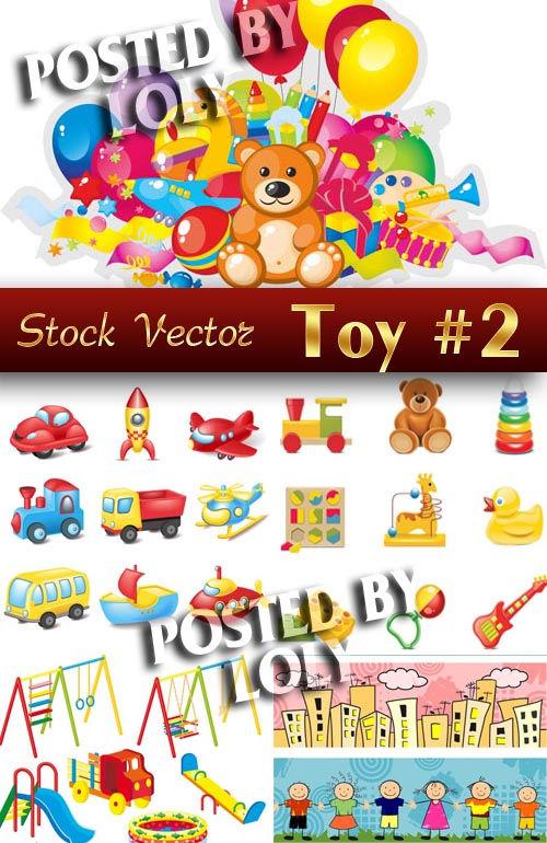 Векторный клипарт Детские Игрушки #2