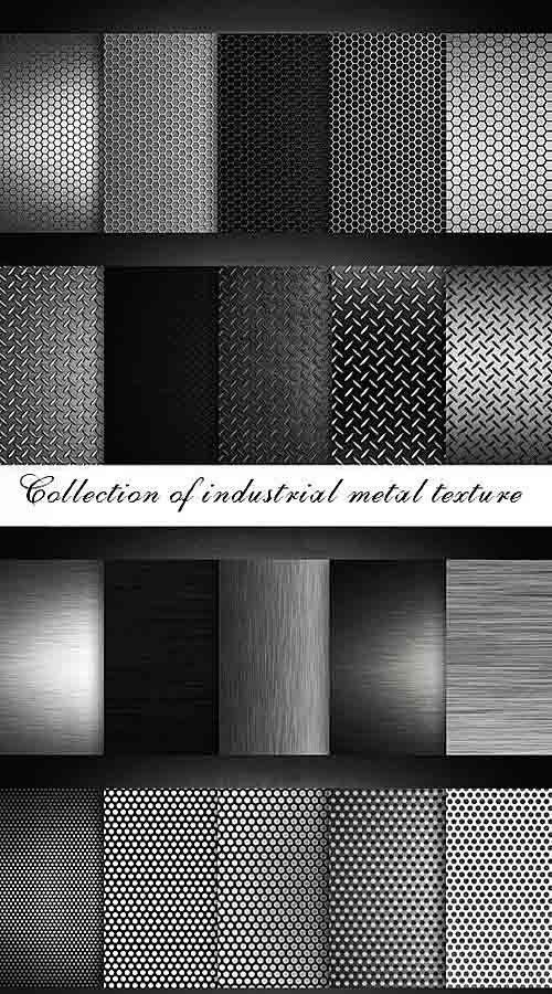 Коллекция текстур индустриального металла