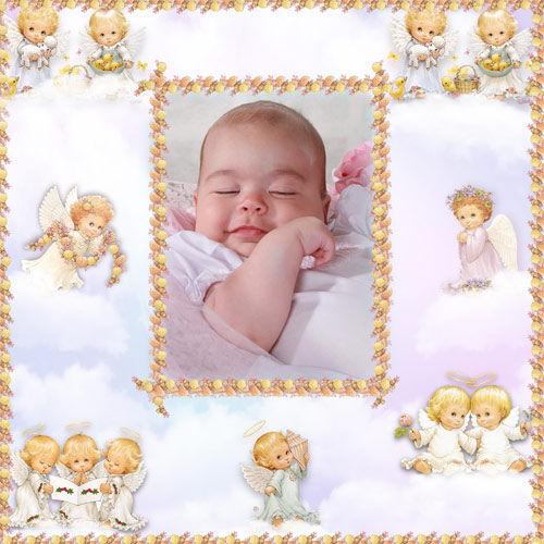 Рамка детская ' Мой маленький ангел ''