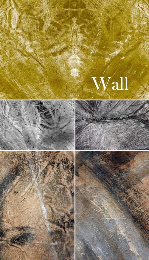 Текстуры стен крупным планом