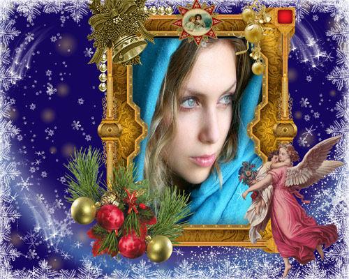 Рамка женская ''Ночь перед Рождеством ''