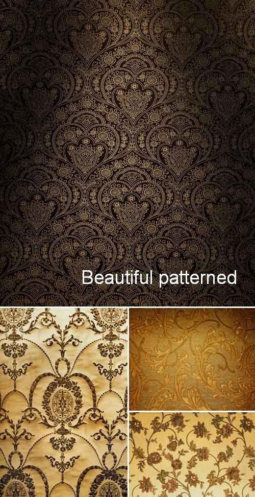 Набор великолепных узорных текстур