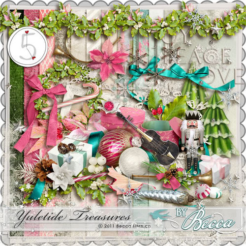 Скрап-набор Yuletide Treasures